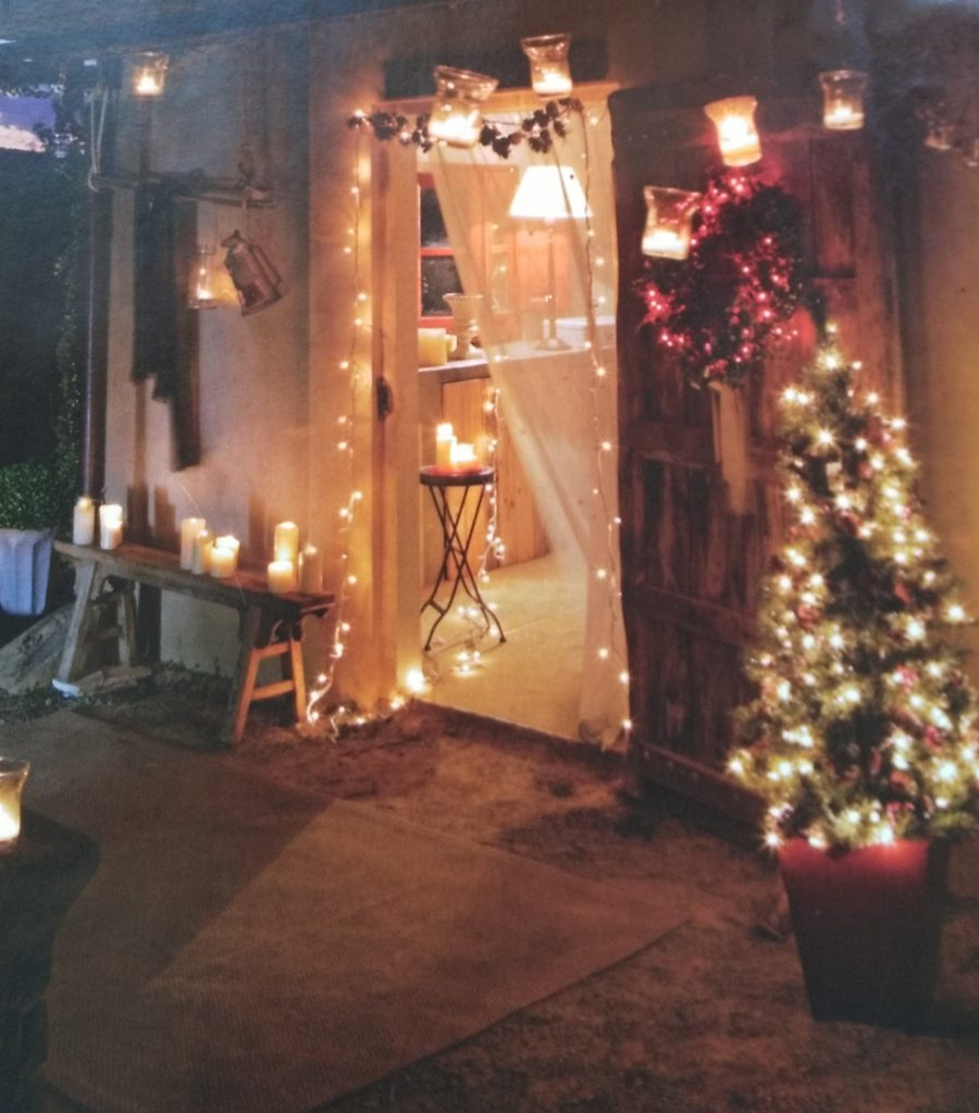 decoración casa Navidad