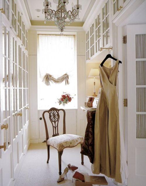 Inspiración para el vestidor