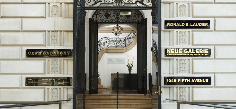 Neue Galerie residencia de la dama de oro