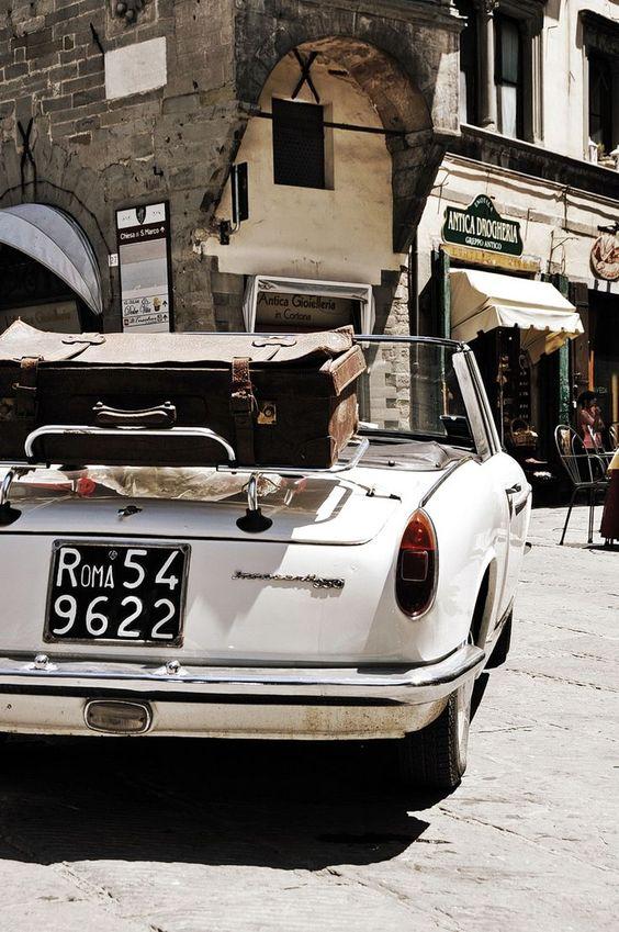 pequeños placeres viaje en coche clásico
