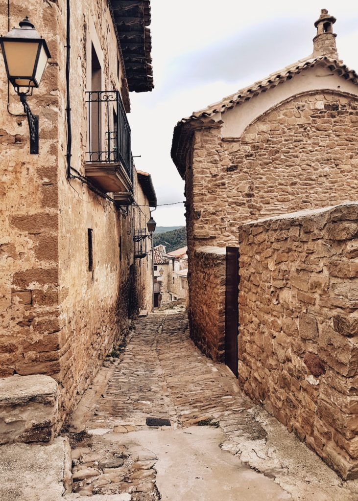 pueblo de piedra