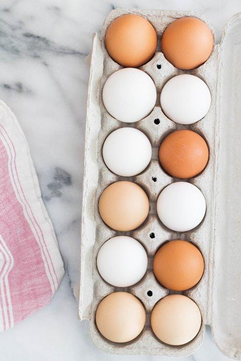 huevos para hacer tortitas escocesas