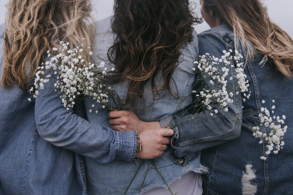 Tres amigas es parte de la fórmula de la felicidad