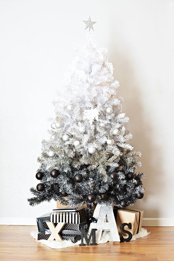 árbol de Navidad degrade