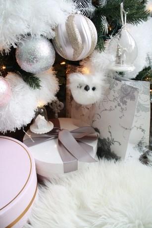 close up de árbol de Navidad