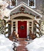 10 propuestas para la decoración exterior navideña