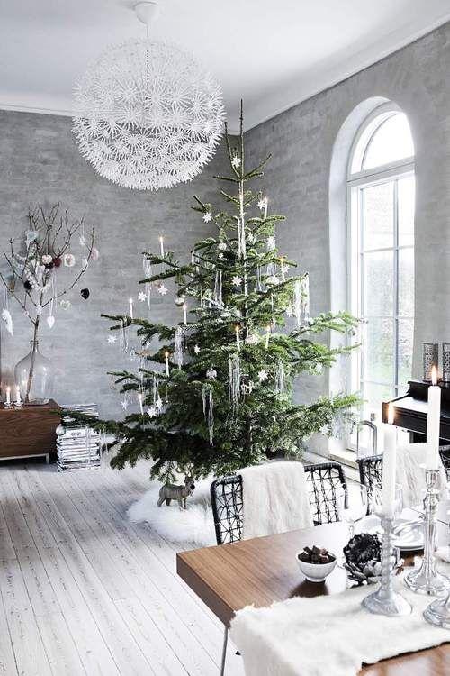 Decoración navideña sencilla para sobrevivir a la Navidad