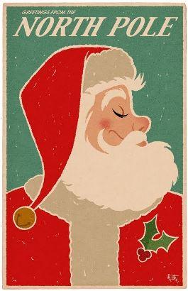 Póster de Santa Claus