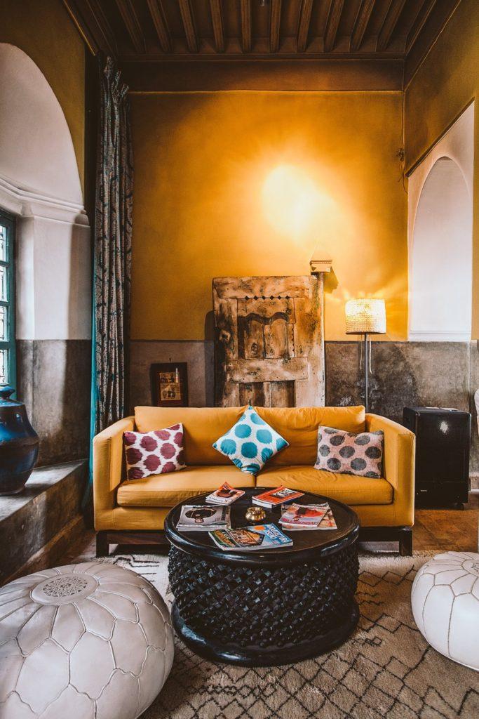 salón marroquí una de las tendencias de decoración para 2019