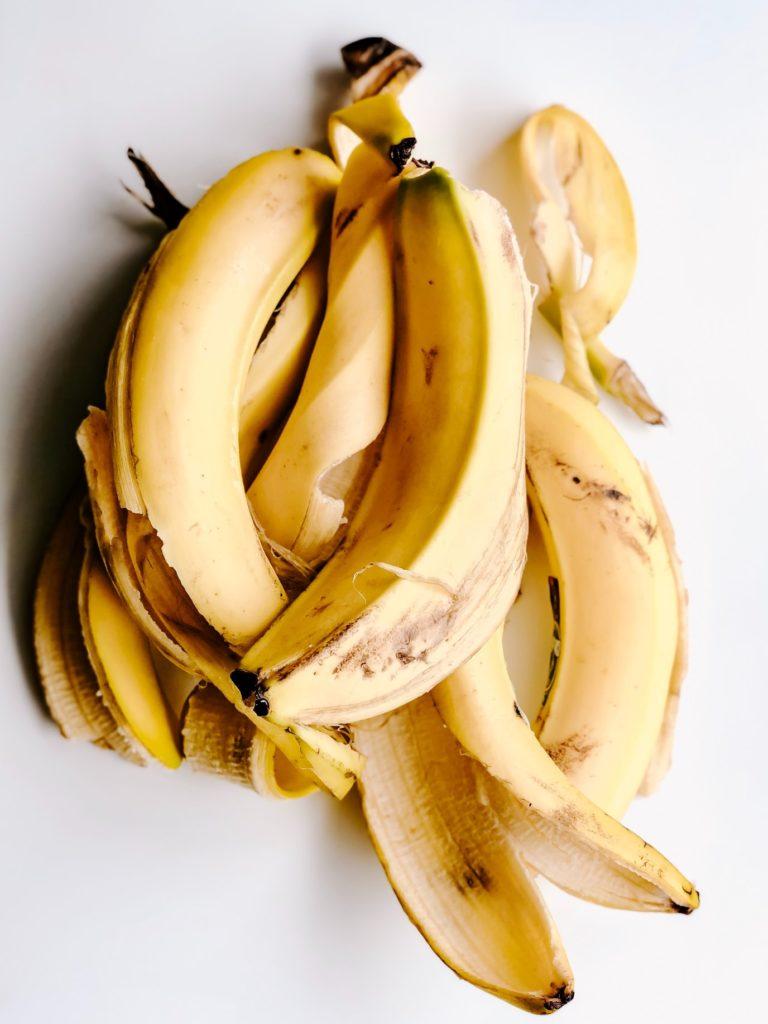 plátanos para hacer un banana bread