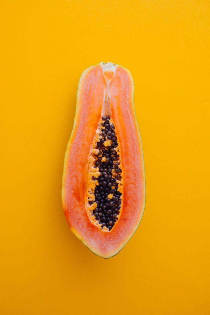 papaya uno de los quince limpios
