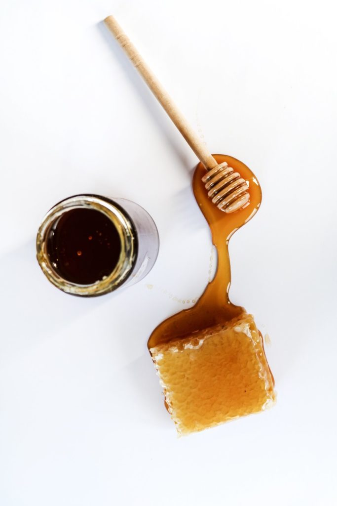 miel para entrante con higos