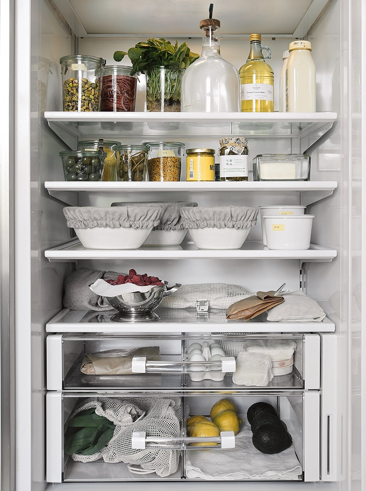 frigorífico libre de plásticos