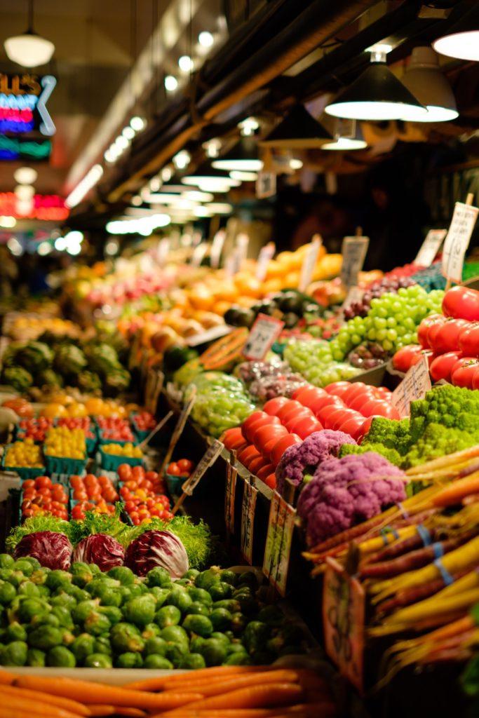 Verduras para comer de forma sana