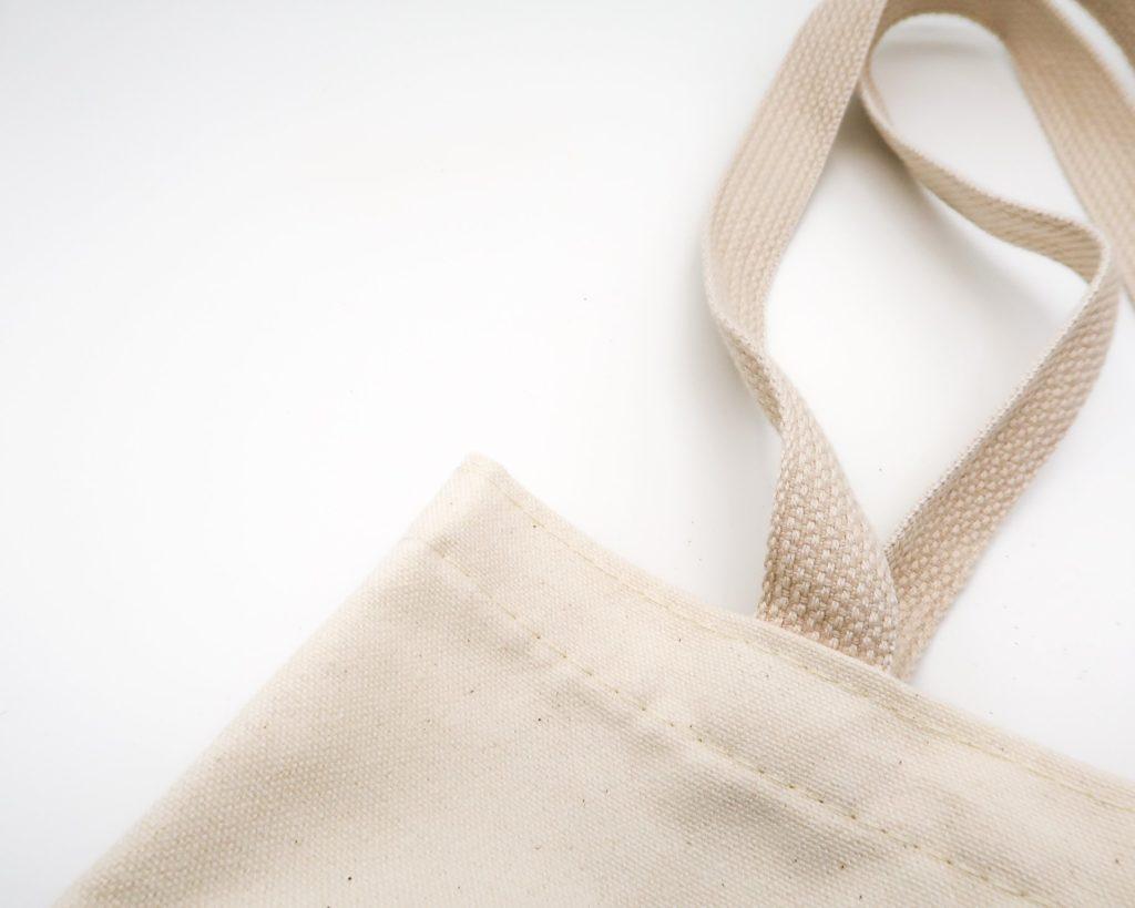 bolsa de la compra de tela