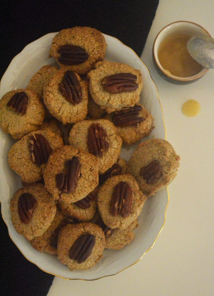 galletitas de nueces y romero